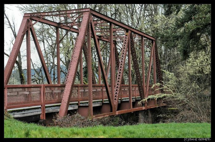 "Mosby Steel Truss Bridge (aka ""Stand by Me"" Bridge"