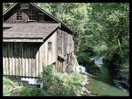 The Grist Mill and Cedar Creek