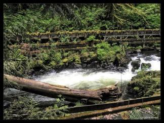 Cedar Creek Grist Mill Flume