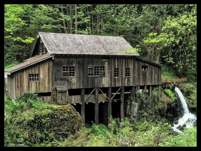 "Cedar Creek Grist Mill (est. 1876) is a ""Working Museum"""