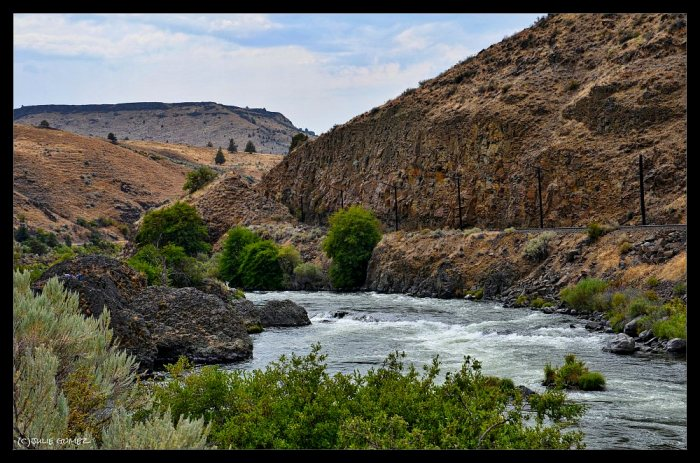 Boxcar Rapids—Deschutes River Canyon, Maupin, Oregon