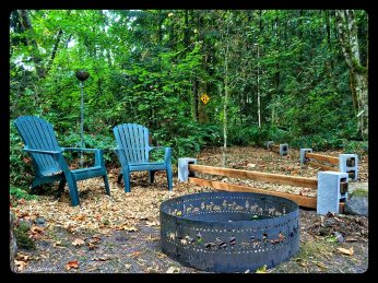Mulch beds, and fence borders