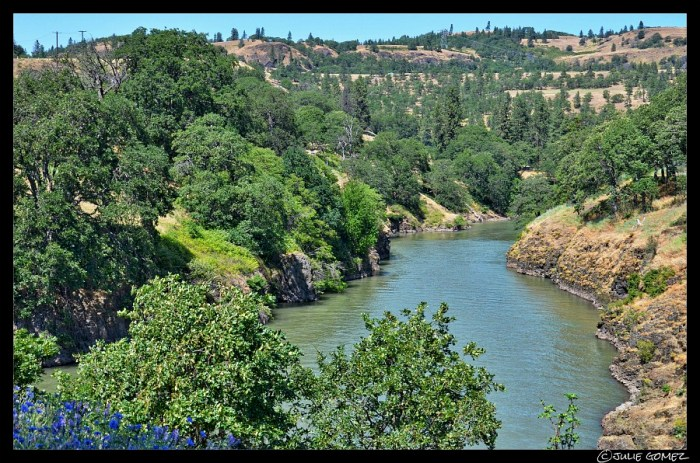 Lower Klickitat River—Lyle, Washington.